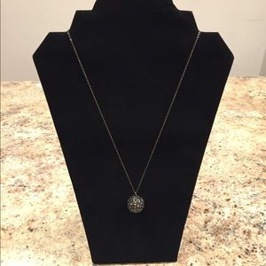 White House Black Market Ball Pendant